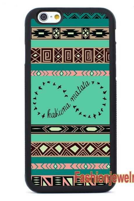 Aztec Hakuna Matata - iPhone 7 case,iPhone 7 Plus case,iPhone 6/6s Plus case,iPhone 5 5s se case,iPhone 5c case,iPhone 4 4s case Samsung Galaxy Case Cover
