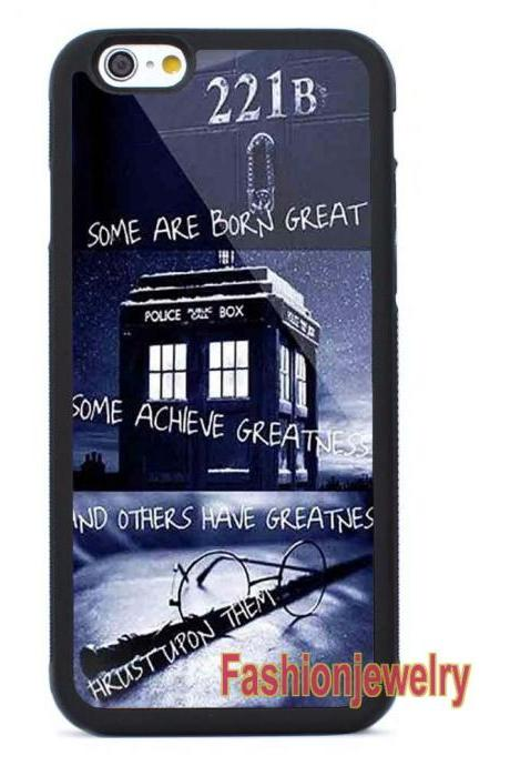 Doctor Who Tardis Harry Potter Quotes - iPhone 7 case,iPhone 7 Plus case,iPhone 6/6s Plus case,iPhone 5 5s se case,iPhone 5c case,iPhone 4 4s case Samsung Galaxy Case Cover